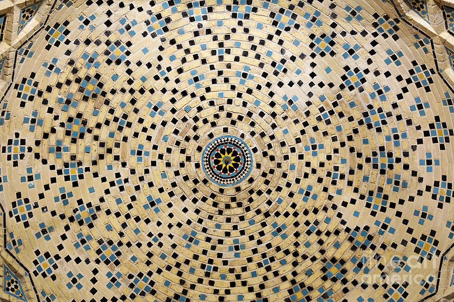 a-dome-of-the-nazir-ul-mulk-mosque-from-inside-the-winter-prayer-hall-at-shiraz-in-iran-robert-preston
