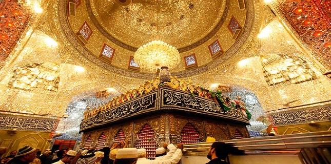 Mausoleo del Imam Husein (P) en Karbala