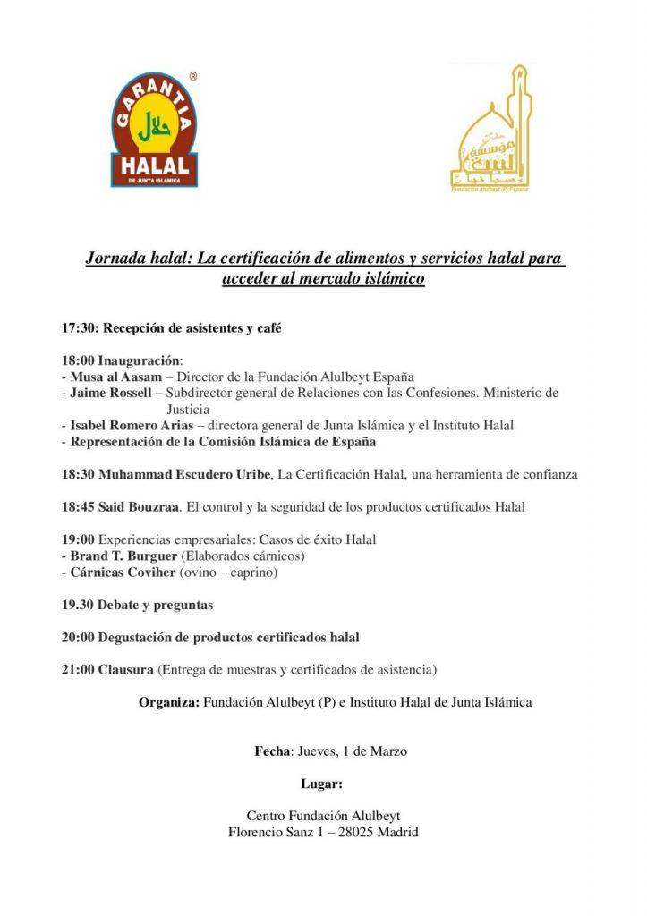 Evento Instituto Halal