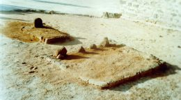 Restos de la tumba del Imam P