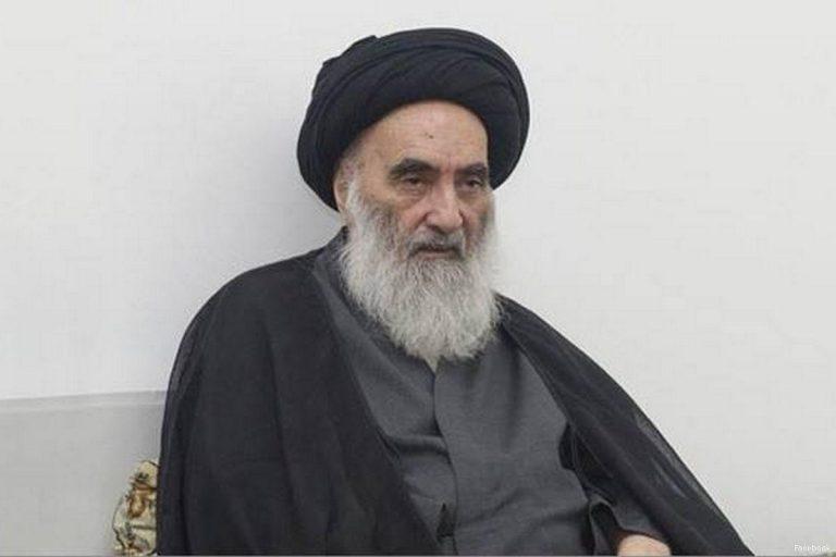 Miles de personas siguen el llamamiento del Gran Ayatolá Ali al Sistani para apoyar a los necesitados en medio de la epidemia de coronavirus