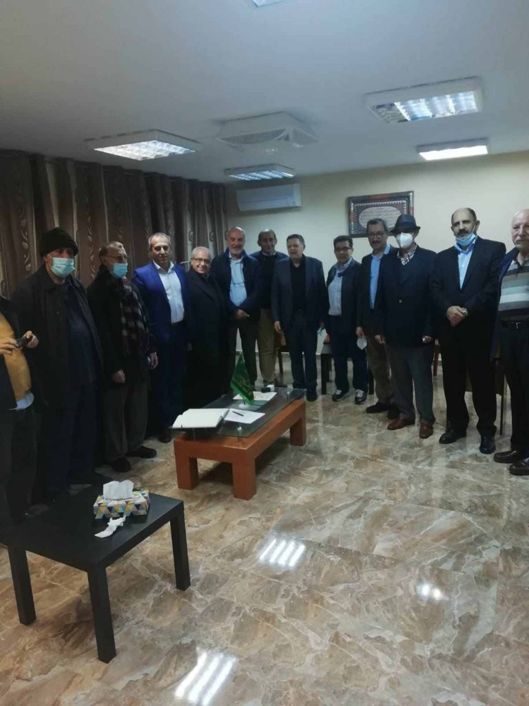 Miembros de la Sociedad de Médicos Hispano-Libanesa visitaron la Fundación Alulbeyt