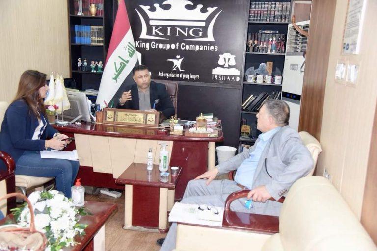 Visita del Presidente de la Fundación Al Instituto de la Orientación de Arbitraje y Desarrollo Cultural y Jurídico