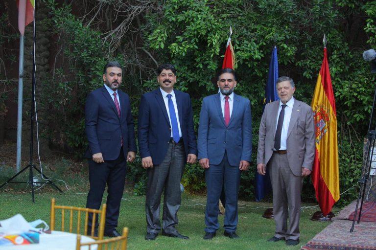 سفارة مملكة اسبانيا في بغداد تقيم دعوة عشاء على شرف وفد خبراء الاتحاد الاوروبي